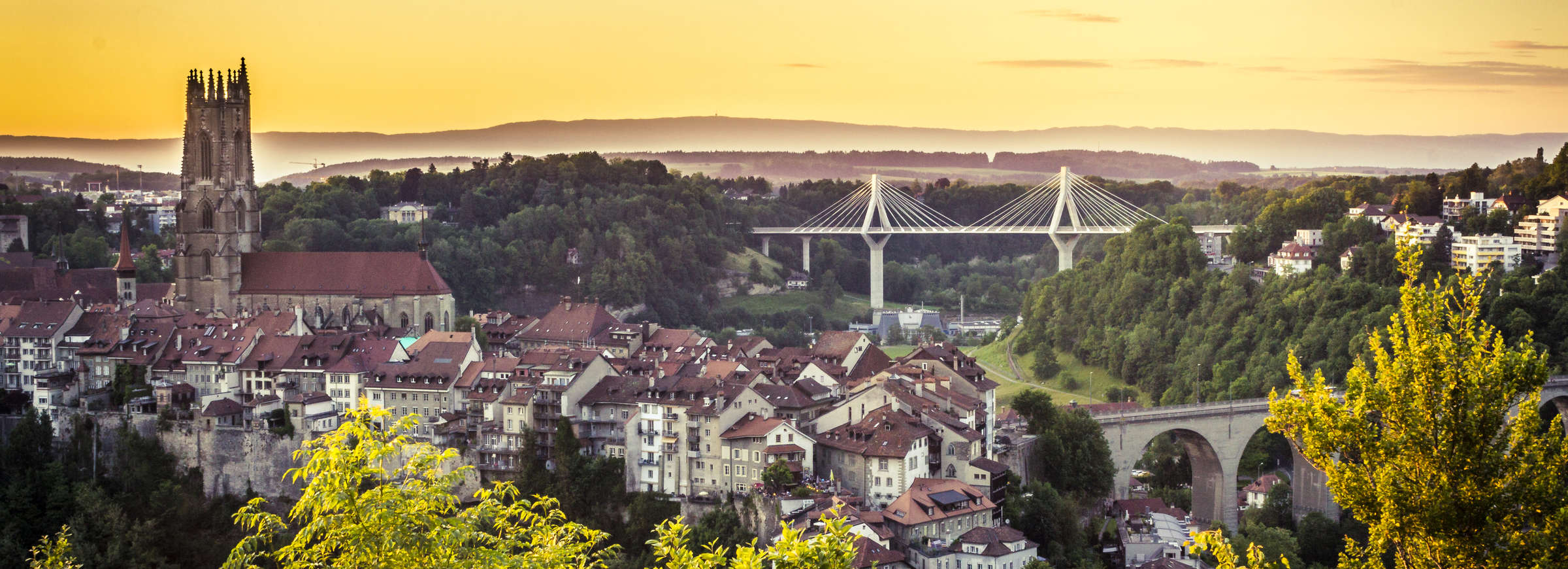 Fribourg ville © Pierre Cuony